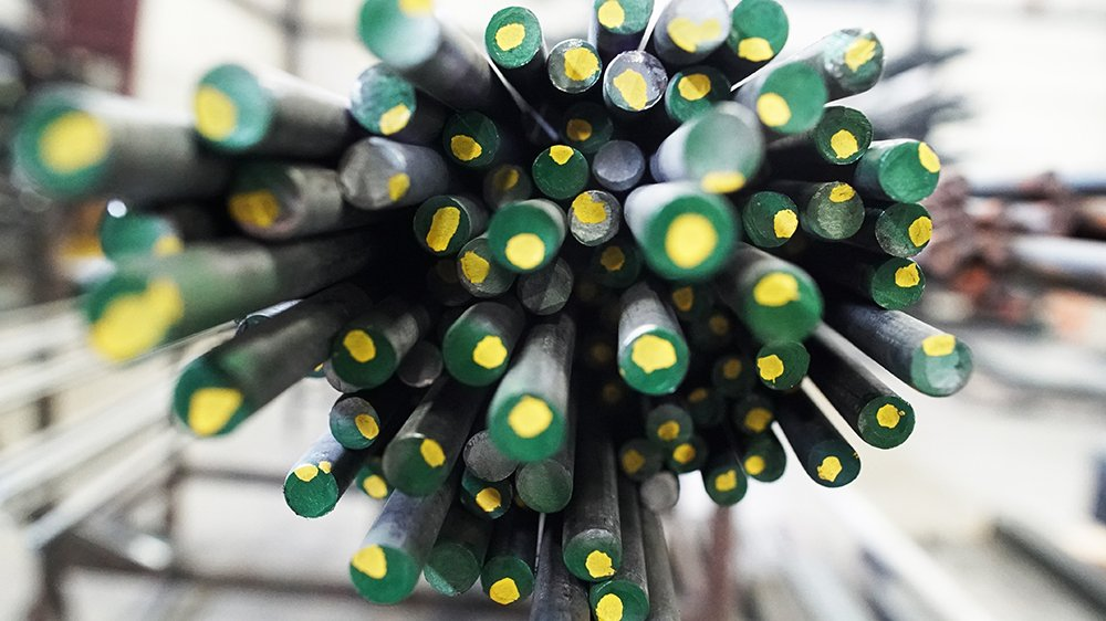 Bundle of Green Rods for Use in Fabrication