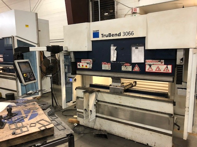 TruBend Trumpf Press Brake 3066 Unit
